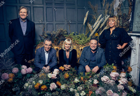 David, as played by Robert Bathurst, Adam, as played by James Nesbitt, Karen, as played by Hermione Norris, Pete, as played by John Thomson, and Jenny, as played by Fay Ripley.