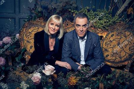 Kaen, as played by Hermione Norris, and Adam, as played by James Nesbitt.