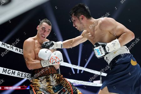 Ryota Murata, Steve Butler. Japanese champion Ryota Murata, right, sends a right to Canadian challenger Steve Butler in the fifth round of their WBA middleweight world boxing title match in Yokohama, southwest of Tokyo, . Murata defended his title by a technical knockout in the round