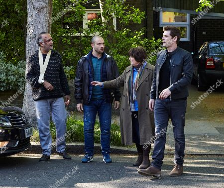 Brenda Blethyn as Vera, Ajay Chhabra as Nasir Ali, Jay Saighal as Agrah Ali and Kenny Doughty as DS Aiden Healy.