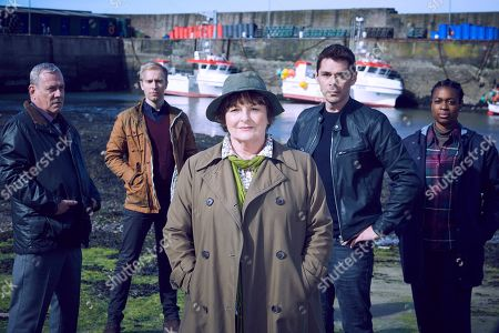 Brenda Blethyn as Vera, Jon Morrison as DC Kenny Lockhart, Riley Jones as PC Mark Edwards, Kenny Doughty as DS Aiden Healy and Ibibnabo Jack as DC Jac Williams.