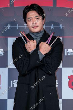 Editorial photo of 'Hitman' film press conference, Seoul, South Korea - 23 Dec 2019