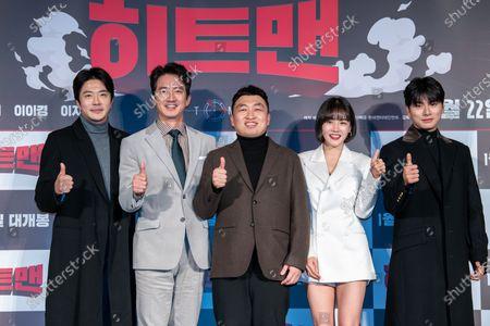 Stock Image of Kwon Sang-woo, Jung Joon-ho, Choi Won-sub, Hwang Woo-seul-hye, Lee Yi-kyung