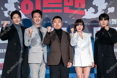 Kwon Sang-woo, Jung Joon-ho, Choi Won-sub, Hwang Woo-seul-hye, Lee Yi-kyung