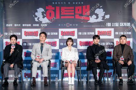 Editorial image of 'Hitman' film press conference, Seoul, South Korea - 23 Dec 2019