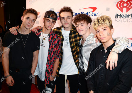 Why Don't We - Zach Herron, Jack Avery, Daniel Seavey, Corbyn Besson, Jonah Marais