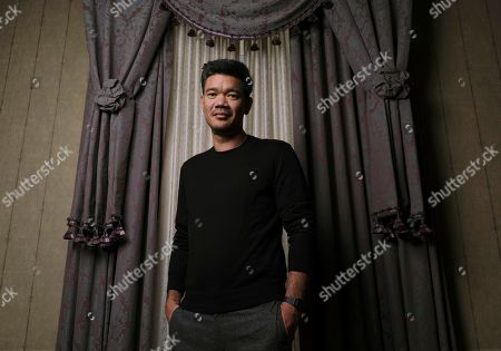 """Destin Cretton posing for a portrait to promote his film """"Just Mercy"""" at the Fairmont Royal York Hotel during the Toronto International Film Festival in Toronto"""