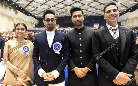 Editorial photo of National Film Awards, New Delhi, India - 23 Dec 2019