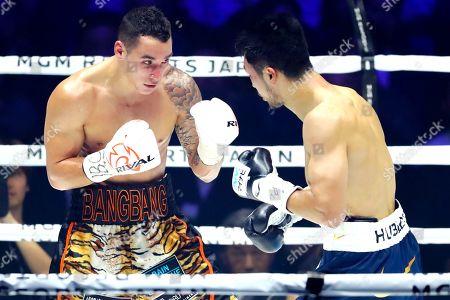 Steven Butler in action against Ryota Murata