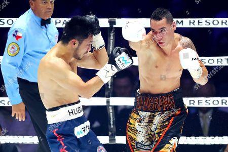 Ryota Murata in action against Steven Butler