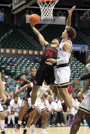 Editorial photo of NCAA Basketball Diamond Head Classic Houston v Georgia Tech DEC23, Honolulu, USA - 23 Dec 2019