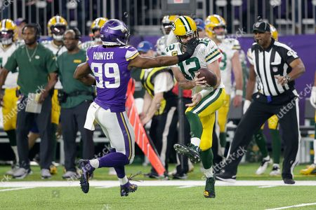 Editorial photo of Green Bay Packers v Minnesota Vikings, Football, Minneapolis, USA - 23 Dec 2019