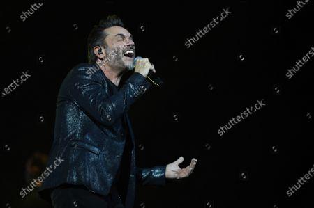 Editorial image of Nek in concert at the Teatro Carlo Felice, Genoa, Italy - 23 Dec 2019