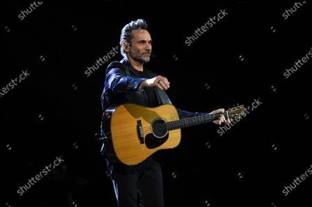 Editorial photo of Nek in concert at the Teatro Carlo Felice, Genoa, Italy - 23 Dec 2019