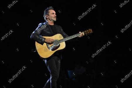 Editorial picture of Nek in concert at the Teatro Carlo Felice, Genoa, Italy - 23 Dec 2019