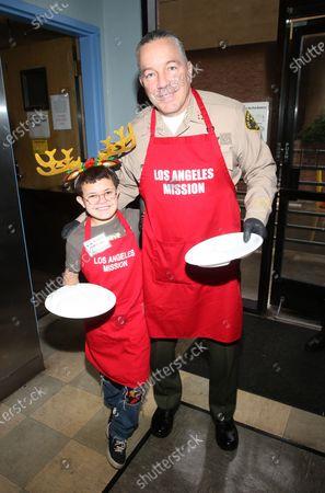 Editorial photo of Los Angeles Mission Christmas Celebration, Los Angeles, USA - 23 Dec 2019