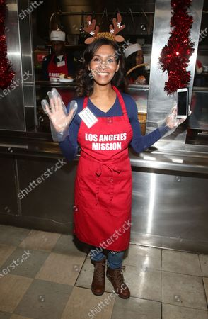Editorial image of Los Angeles Mission Christmas Celebration, Los Angeles, USA - 23 Dec 2019