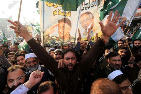 Editorial image of Former President Musharraf sentenced to death in high treason case, Peshawar, Pakistan - 24 Dec 2019