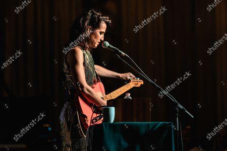 Editorial image of Joan as Police Woman in concert, Padova, Italy - 07 Jun 2019