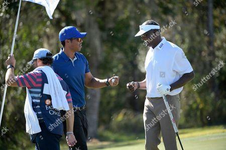 Editorial image of Father Son Challenge Golf, Orlando, USA - 07 Dec 2019