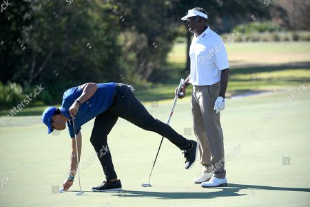 Editorial picture of Father Son Challenge Golf, Orlando, USA - 07 Dec 2019