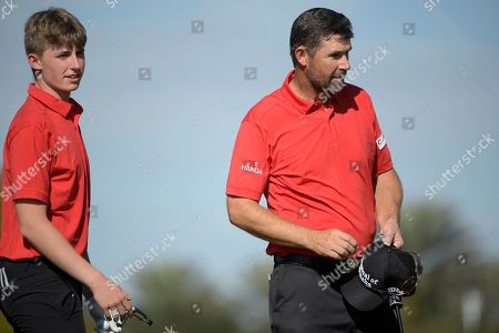 Editorial picture of Father Son Challenge Golf, Orlando, USA - 07 Dec 2019
