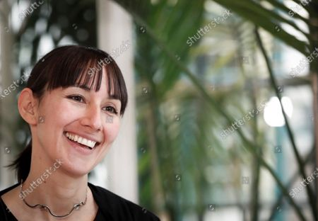 Stock Image of Spanish Silvia Gonzalez poses in London in October 2019 (issued 26 December 2019). Silvia decided to move to Newport in Wales back in 2015 and now works at the city's Town Hall chairing the waste management and cleaning department. Silvia is part of the initiative 'The3Million', an association of EU citizens living in the UK that fight for their rights and against discrimination demanding a settled status in Britain. About three million EU citizens living in the United Kingdom, which is due to leave the European Union by 31 January 2020, will be affected by the so-called Brexit. The deadline for the Withdrawal Agreement has been postponed several times since Britain invoked Article 50 of the Treaty on European Union on 29 March 2017, nine months after a referendum about the UK's membership in the EU was held.