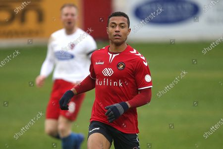 Alex Reid of Ebbsfleet during Dagenham & Redbridge vs Ebbsfleet United, Vanarama National League Football at the Chigwell Construction Stadium on 26th December 2019