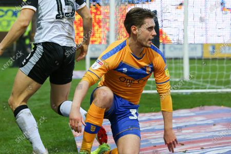 Mansfield Town forward Danny Rose (32) during the EFL Sky Bet League 2 match between Mansfield Town and Port Vale at the One Call Stadium, Mansfield