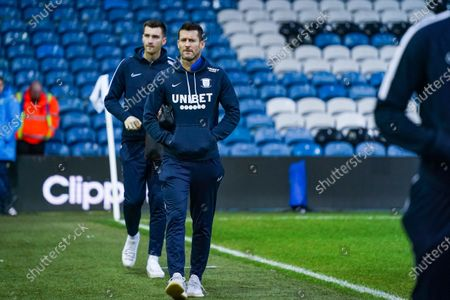 Preston North End forward David Nugent (35) arrives at the ground during the EFL Sky Bet Championship match between Leeds United and Preston North End at Elland Road, Leeds