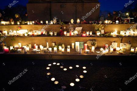 Editorial photo of Vigil for late Ari Behn, Oslo, Norway - 26 Dec 2019