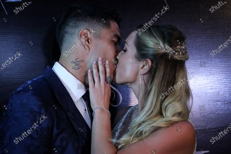 Editorial image of Soccer player Luis Suarez and wife renew marriage vows in Uruguay, Montevideo, Spain - 26 Dec 2019