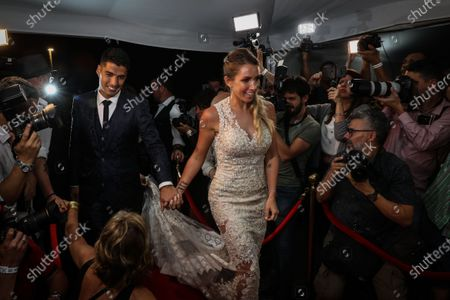 Editorial photo of Soccer player Luis Suarez and wife renew marriage vows in Uruguay, Montevideo, Spain - 26 Dec 2019