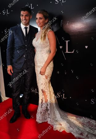 Editorial picture of Soccer player Luis Suarez and wife renew marriage vows in Uruguay, Montevideo, Spain - 26 Dec 2019