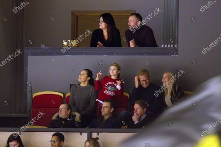 Editorial image of Swedish royals at Brynas v Oskarshammn ice hockey game, Stockholm, Sweden - 26 Dec 2019