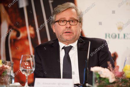 Editorial image of Vienna Philharmonic press conference in Vienna, Austria - 27 Dec 2019
