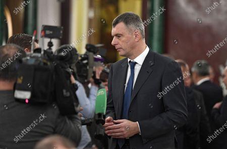 Russian businessman Mikhail Prokhorov