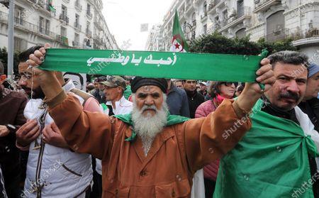 Editorial image of Anti government protests continue in Algiers, Algeria - 27 Dec 2019