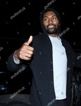 Stock Image of Ron Artest