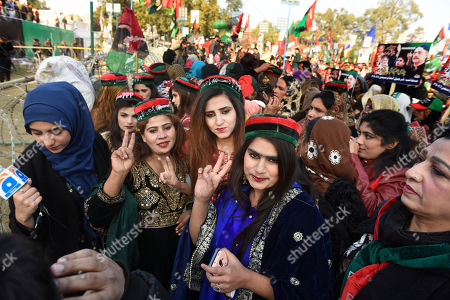 Supporters of Pakistan People's party gather in Rawalpindi, Pakistan, to observe the death anniversary of Bhutto in Pakistan. Former Prime Minister of Pakistan Benazir Bhutto was assassinated in Rawalpindi in 2007