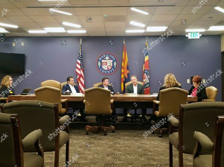 Editorial image of Arizona Official-Adoption Fraud, Phoenix, USA - 27 Dec 2019