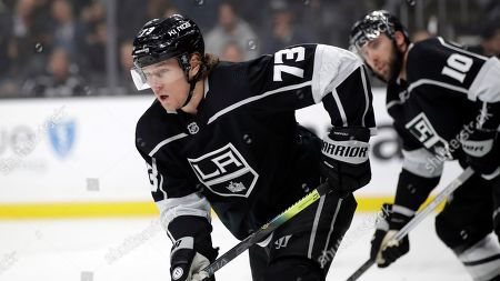 Los Angeles Kings' Tyler Toffoli during an NHL hockey game against the St. Louis Blues, in Los Angeles