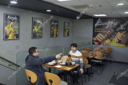 Editorial photo of Bruce Lee's daughter sues Chinese fast food chain over image use, Beijing, China - 28 Dec 2019