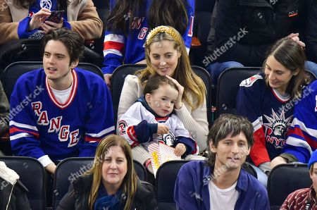 Editorial image of Celebrities attend Carolina Hurricanes v New York Rangers, NHL Ice Hockey game, Madison Square Garden, New York, USA - 27 Dec 2019