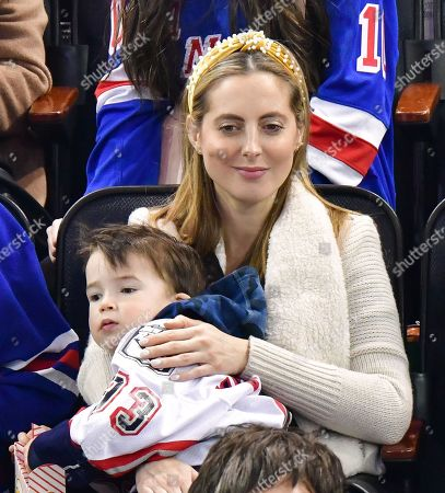 Editorial picture of Celebrities attend Carolina Hurricanes v New York Rangers, NHL Ice Hockey game, Madison Square Garden, New York, USA - 27 Dec 2019