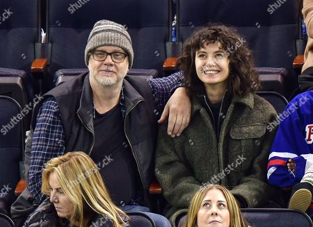 Editorial photo of Celebrities attend Carolina Hurricanes v New York Rangers, NHL Ice Hockey game, Madison Square Garden, New York, USA - 27 Dec 2019