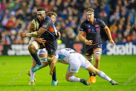 Editorial photo of Edinburgh Rugby v Glasgow Warriors, Guinness Pro 14 2019_20 - 28 Dec 2019