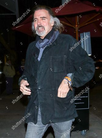 Stock Image of Jeff Fahey outside Craig's Restaurant in West Hollywood