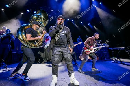 Editorial photo of The Roots in concert at The Fillmore, Detroit, USA - 27 Dec 2019