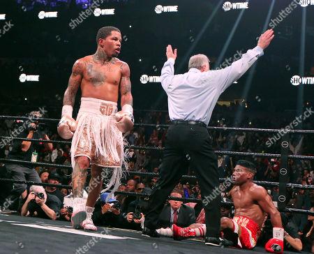 Editorial photo of Gamboa Davis Boxing, Atlanta, USA - 28 Dec 2019